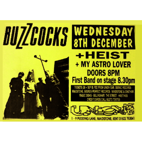 Maidstone Union 8 December 1999 Poster