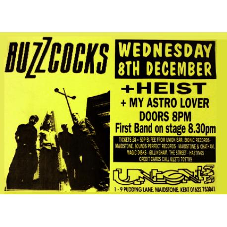 Maidstone Union 8 December 1999 Poster