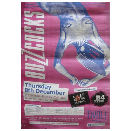 Buckley Tivoli 8 December 2011 Poster