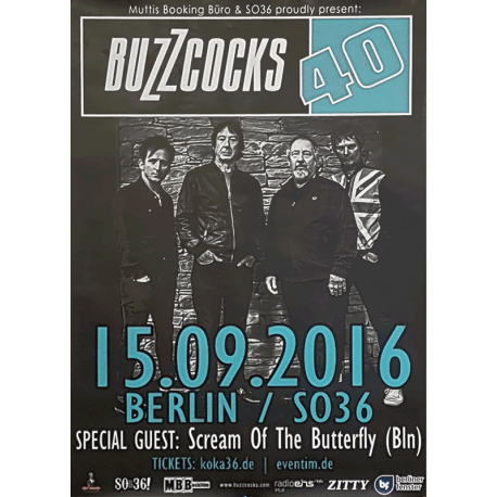 Berlin SO36 15 September 2016 Poster