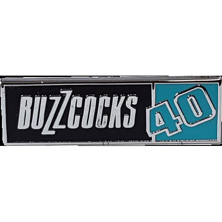Buzzcocks 40th Anniversary Enamel Badge