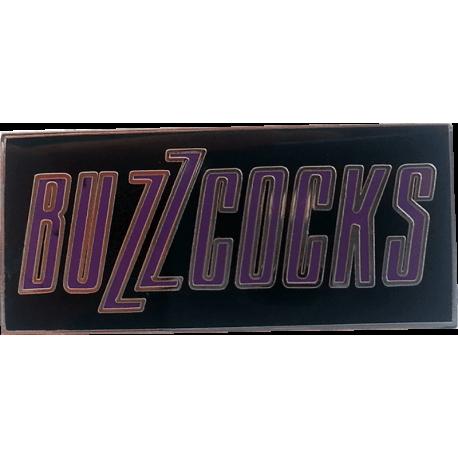 Buzzcocks Logo Enamel Badge (Black)
