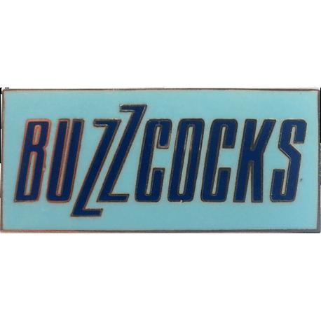 Buzzcocks Logo Enamel Badge (Light Blue)