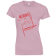 Entertaining Friends Pink Women's T-Shirt
