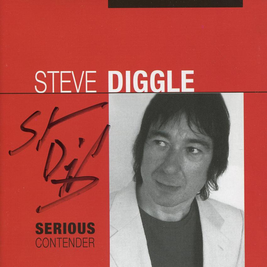 Serious Contender (Steve Diggle) CD