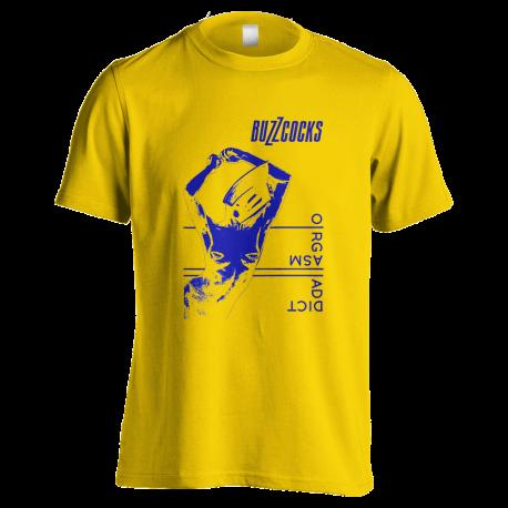 Orgasm Addict Yellow T-Shirt